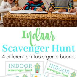 When you can't go outside, make things interesting with this FREE Indoor Scavenger Hunt! #fhdhomeschoolers #freehomeschooldeals #indoorscavengerhunt #isolationactivities #hsdays