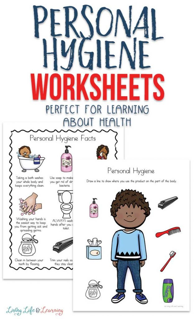 FREE Personal Hygiene Worksheets for Your Kiddos. #freehomeschooldeals #fhdhomeschoolers #personalhygieneforkids #kidhygieneworksheets #hygieneworksheetsforkids