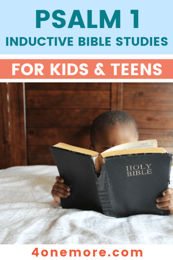 FREE Sample of the PSALM 1 Self-Study Workbook. #freehomeschooldeals #fhdhomeschoolers #Psalm1printable #inductivebiblestudy #teenbiblestudy #psalm1studysample