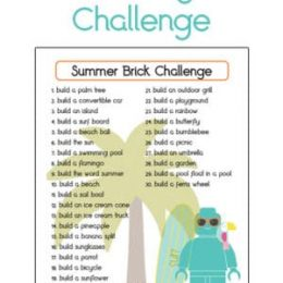 FREE Summer Lego Building Challenge. #freehomeschooldeals #fhdhomeschoolers #summerlegochallenge #legoSTEMchallenge #STEMchallenge