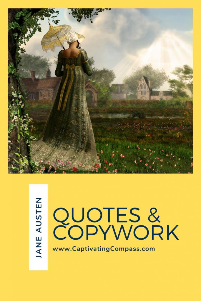 jane austen quotes & copywork
