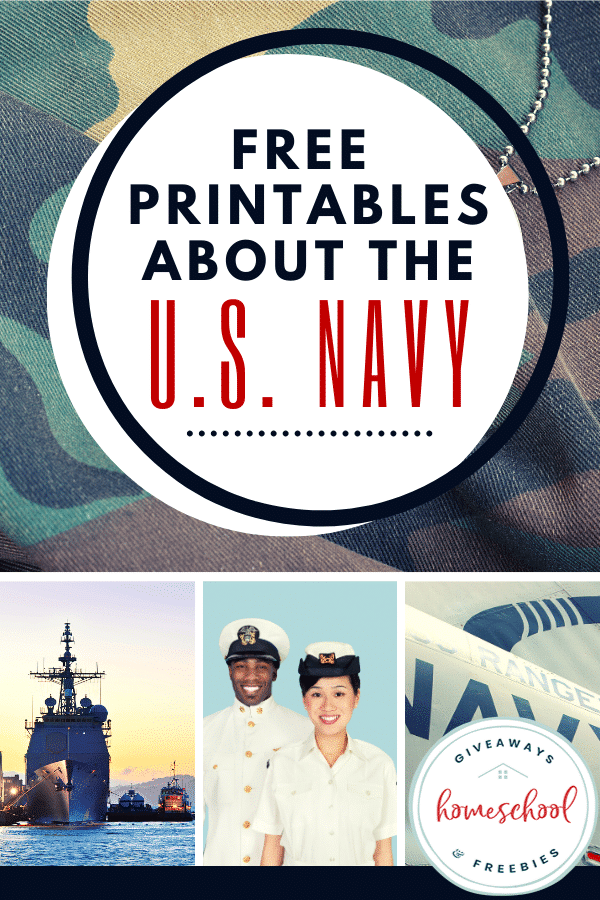 All About the U.S. Navy FREE Printables. #freehomeschooldeals #fhdhomeschoolers #USNavyresources #USNavyprintables #Navyresources #militaryresources
