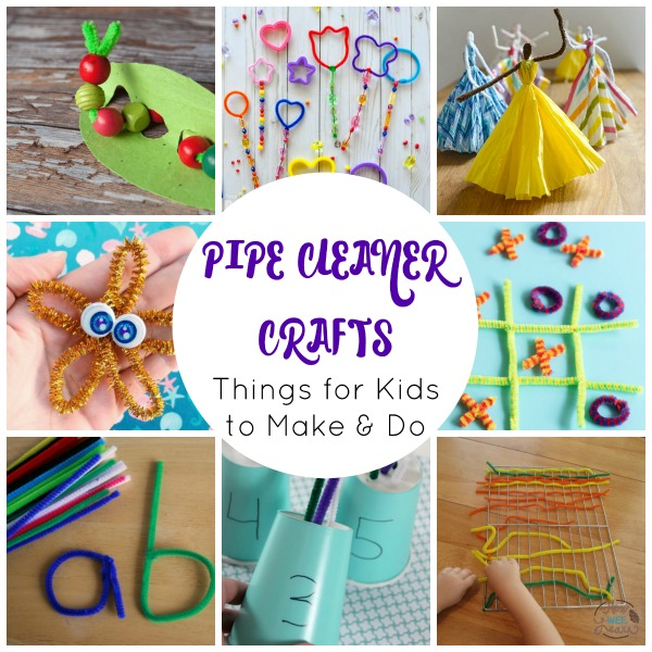 Super Cool Pipe Cleaner Crafts. #freehomeschooldeals #fhdhomeschoolers #pipecleanercrafts #craftswithpipecleaners