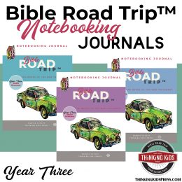 Bible Road Trip Curriculum Notebooking Pages (X3 FREE). #freehomeschooldeals #fhdhomeschoolers #BibleRoadTripfreepages #notebookingpages #Biblenotebookingpages