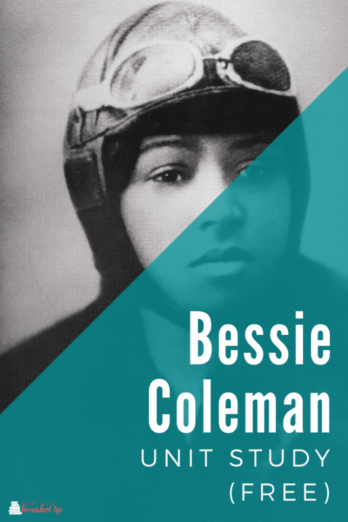 FREE Bessie Coleman Unit Study and Resources. #freehomeschooldeals #fhdhomeschoolers #BessieColemanresources #BessieColemanunitstudy #blackfemalepilot