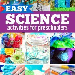 50 Simple Preschool Science Activities. #freehomeschooldeals #fhdhomeschoolers #scienceactivities #preschoolscienceactivities #exploringpreschoolscience