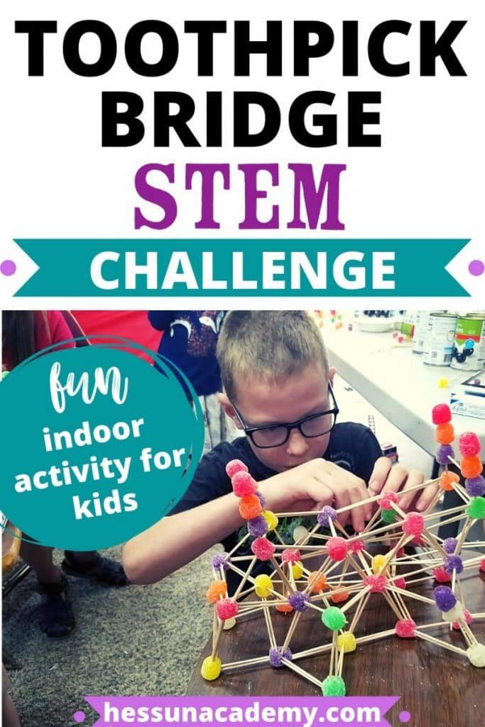 Free Toothpick Bridge Kids Stem Challenge Free Homeschool Deals C