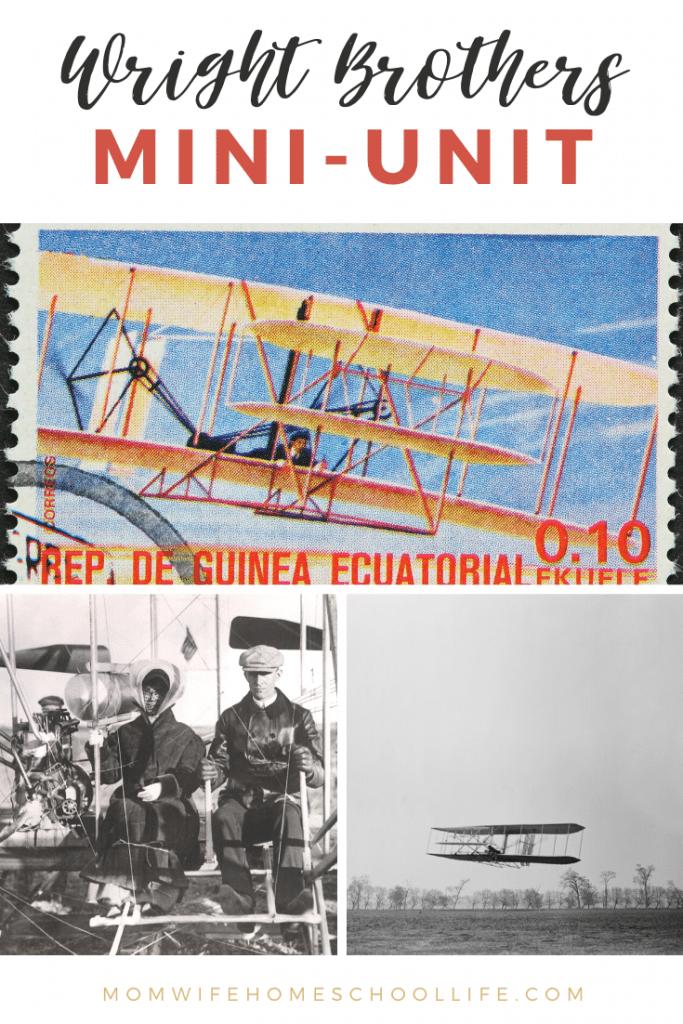 FREE Wright Brothers Mini-Unit. #freehomeschooldeals #fhdhomeschoolers #WrightBrothers #WrightBrothersminiunit #inventorsunitstudy