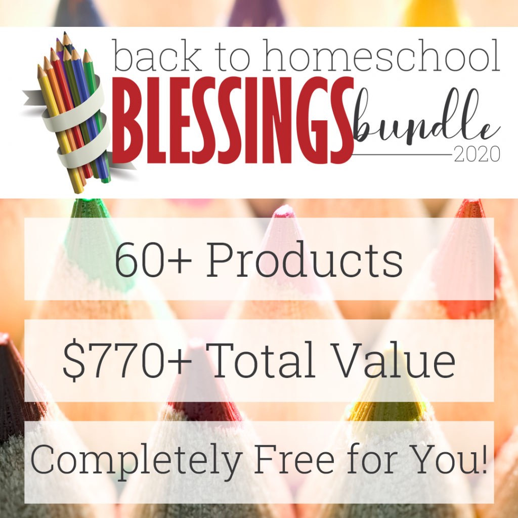 colored pencil points with overlay - Back to Homeschool Blessings Bundle