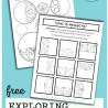 FREE Line of Symmetry Worksheets. #freehomeschooldeals #fhdhomeschoolers #lineofsymmetry #symmetryworksheets