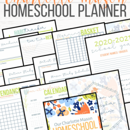 FREE Charlotte Mason 2020- 2021 Homeschool Planner. #freehomeschooldeals #fhdhomeschoolers #CharlotteMasonplanner #homeschoolplanner #CharlotteMasonhomeschool