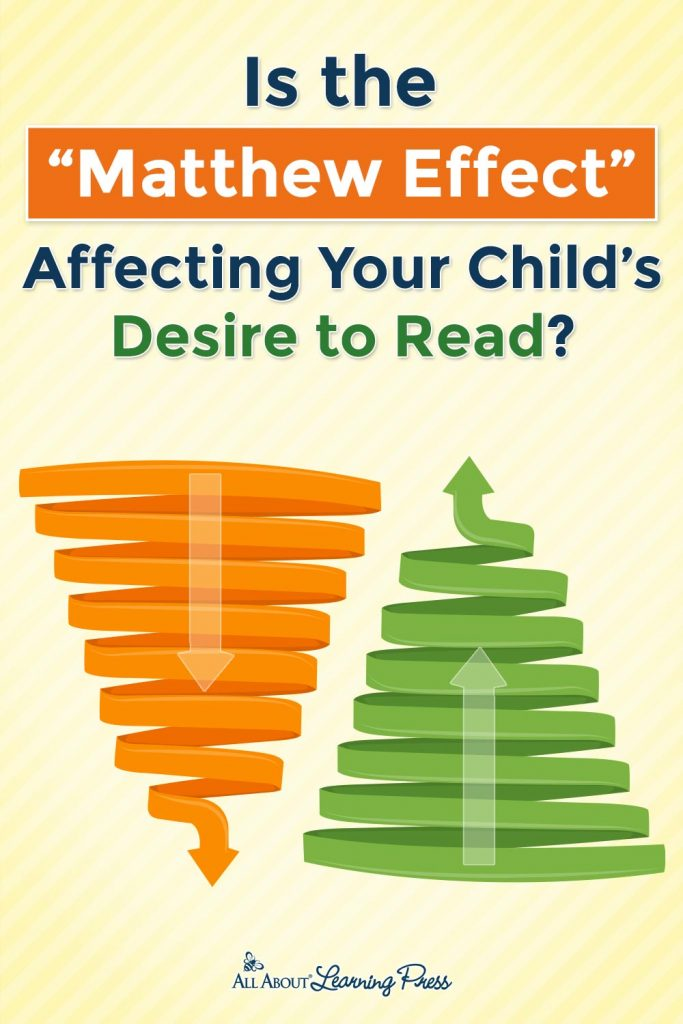 spiral images with overlay - Is the Matthew Effect Affecting Your Child's Desire to Read?