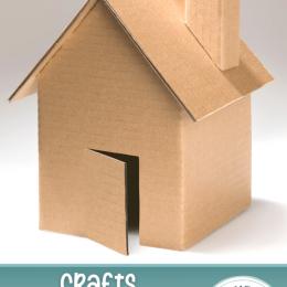 Cardboard Crafts for Kids. #freehomeschooldeals #fhdhomeschoolers #homeschoolschedule #cardboardcrafts #craftswithcardboard