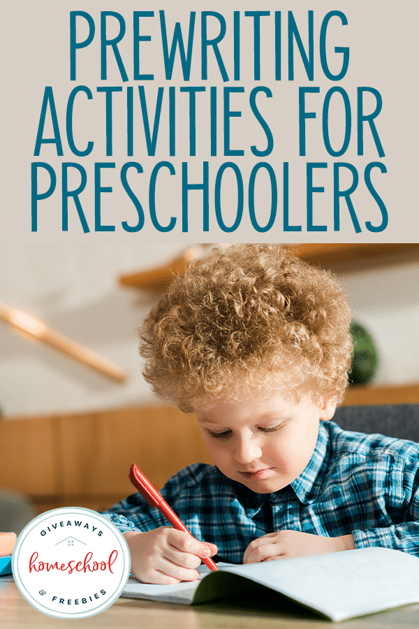 List of Prewriting Activities. #freehomeschooldeals #fhdhomeschoolers #prewritingactivities #prewritingpractice #finemotorskills