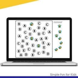 B is for Bee FREE Digital Activity. #letterBactivity #letterBdigitalactivity #GoogleSlideletteractivity #freehomeschooldeals #fhdhomeschoolers