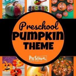 Pumpkin Preschool Theme and FREE Activities. #pumpkinpreschooltheme #pumpkinthemedactivities #pumpkinactivities #pumpkinprintables #pumpkincrafts