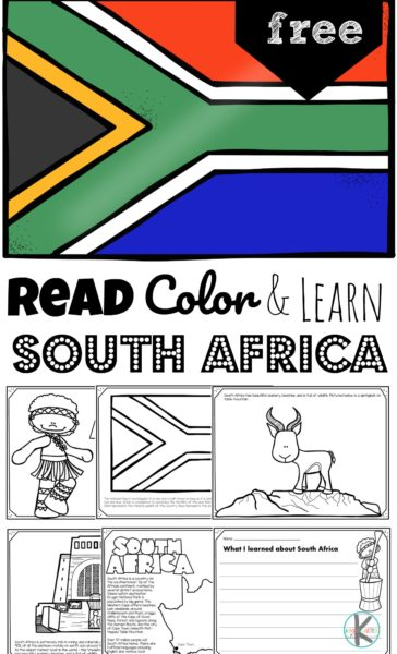 FREE South Africa Learning Pages. #fhdhomeschoolers #freehomeschooldeals #southafricaforkids #learnaboutsouthafrica #africaunitstudy