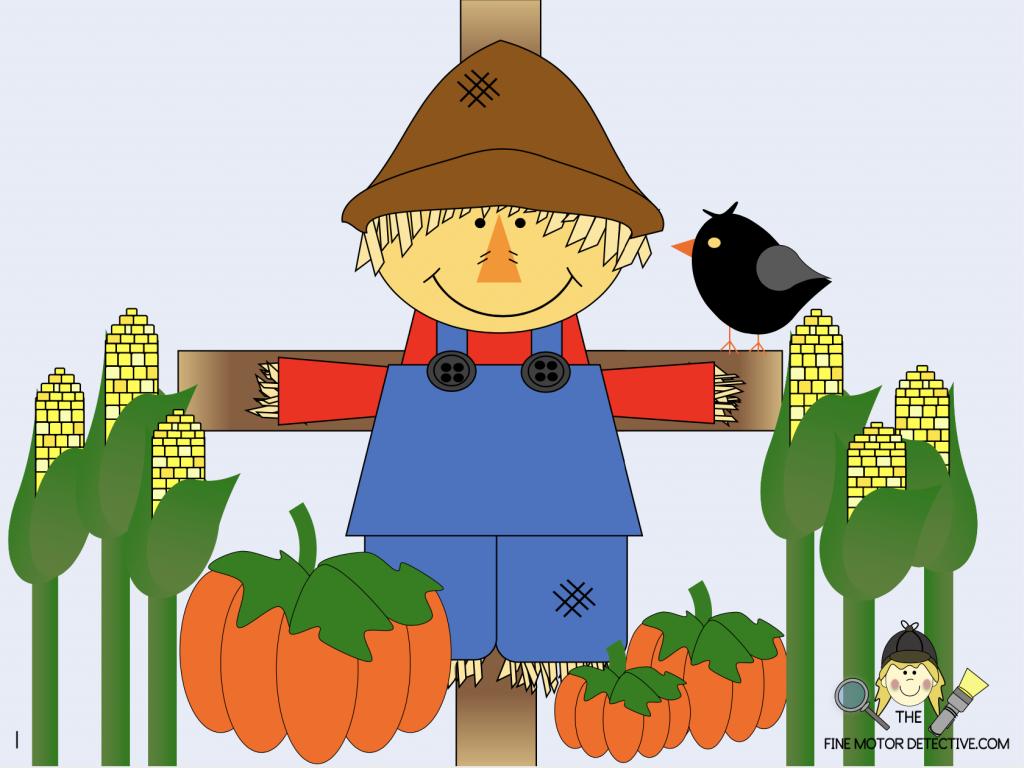 Scarecrow Scarecrow Gross Motor Poem. #freehomeschooldeals #fhdhomeschoolers  #scarecrowscarecrow #scarecrowpoemactivity