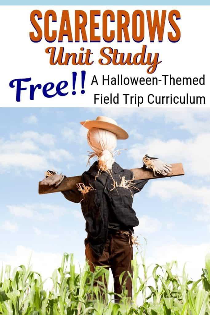 FREE Scarecrow-Themed Unit Study. #freehomeschooldeals #fhdhomeschoolers #scarecrowthemeduntistudy #scarecrowprintables #scaregrowunit #fallunitstudy