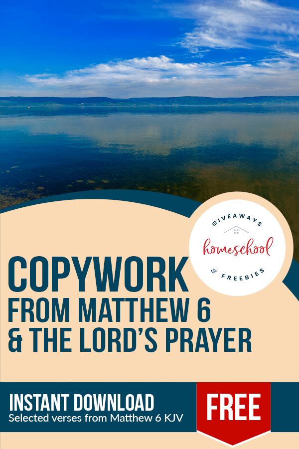 FREE Scripture Copywork for Kids. #freehomeschooldeals #fhdhomeschoolers #scripturecopywork #copyworkforkids #handwritingpractice