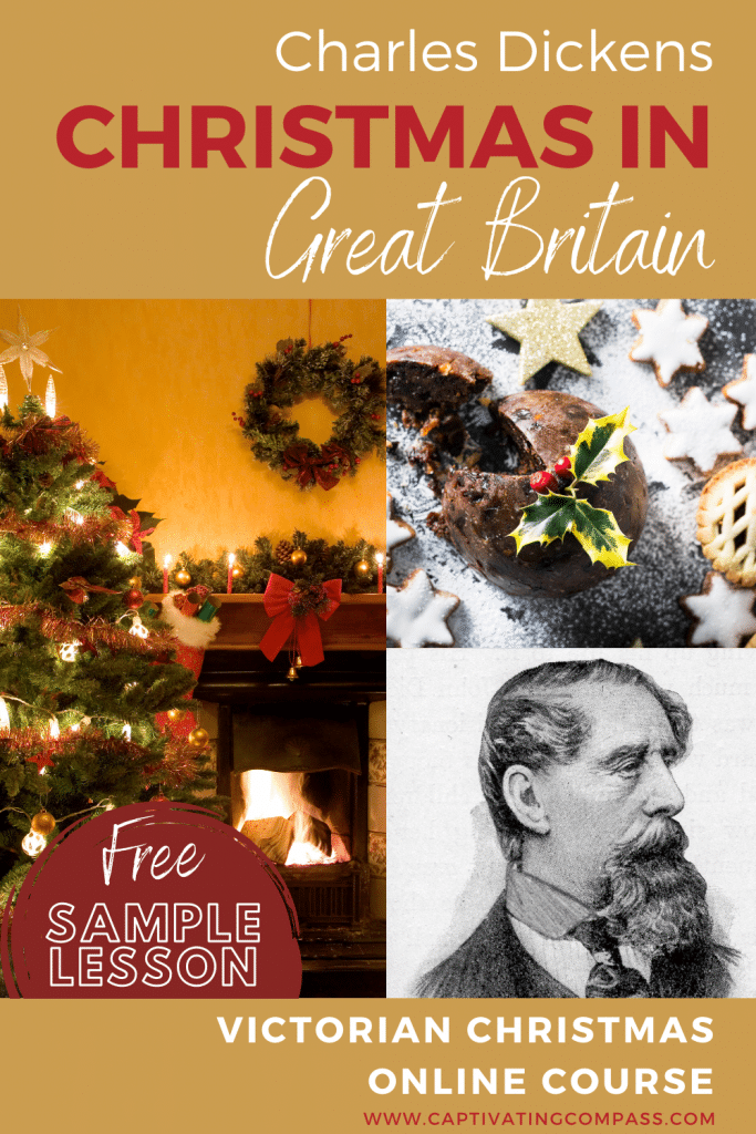 Christmas in Dickens' Victorian England- Free Sample Lesson. #freehomeschooldeals #fhdhomeschoolers #DickensVictorianEnglandChristmas #ChristmasinVictorianEngland #ChristmasinEngland #ChristmasVictoriantimes