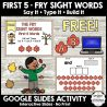 Digital Sight Words Activity. #sightwordspractice #freesightwordactivity #freekindergartenactivity #freehomeschooldeals #fhdhomeschoolers