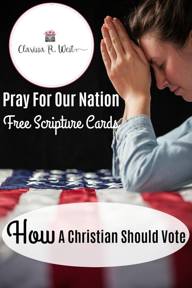 Free Scripture Prayer Cards. #scripturecardsforfamilies #freescripturecards #prayforourcountry  #freehomeschooldeals #fhdhomeschoolers