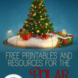 The Polar Express Learning Resources. #polarexpressprintables #polarexpresshomeschool #freepolarexpressworksheets #freehomeschooldeals #fhdhomeschoolers