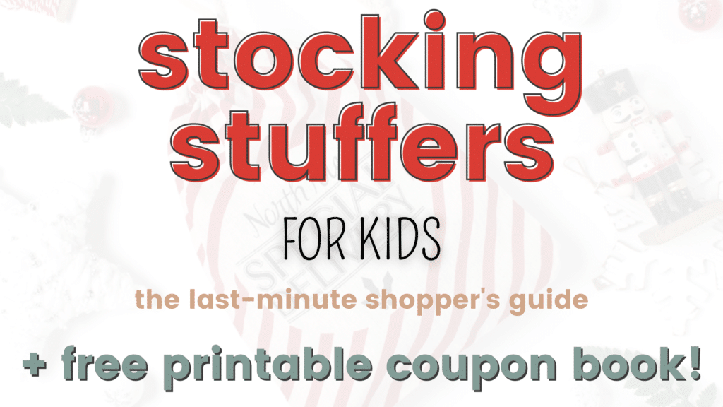 Free Christmas Coupon Book. #freehomeschooldeals #fhdhomeschoolers #Christmascouponbook #stockingstufferideas
