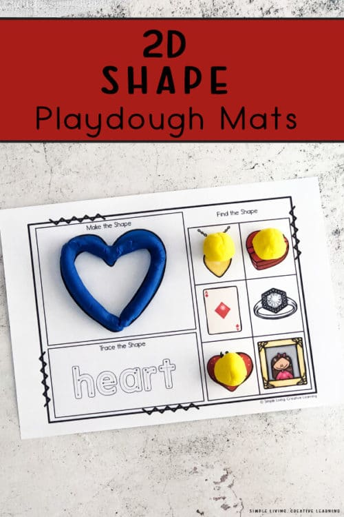Free Playdough Shape Mats. #freeplaydoughmats #shapeplaydoughmats #preschoolshapes #freehomeschooldeals #fhdhomeschoolers