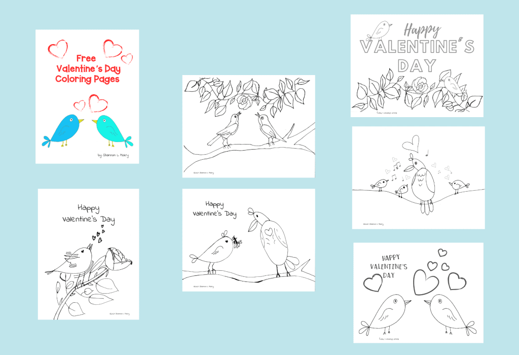 Coloring Pages for Valentine's Day. #valentinesdaycoloringpages #freecoloringpages #valentinesdaycrafts #freehomeschooldeals #fhdhomeschoolers