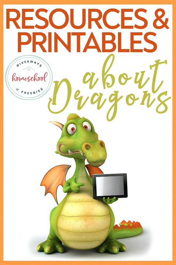 Free Dragon Homeschool Resources. #dragoncrafts #dragonworksheets #dragoncoloringpages #freehomeschooldeals #fhdhomeschoolers