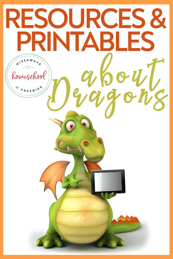 Free Dragon Homeschool Resources. #dragoncrafts #dragonworksheets #dragoncoloringpages #freehomeschooldeals #fhdhomeschoolers