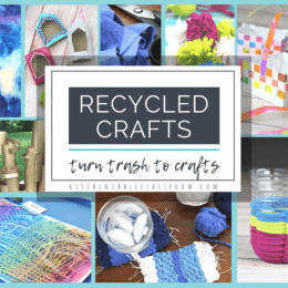 Upcycled Kids Craft Ideas. #recycledcraftideas #upcycledcrafts #craftsforkids #freehomeschooldeals #fhdhomeschoolers