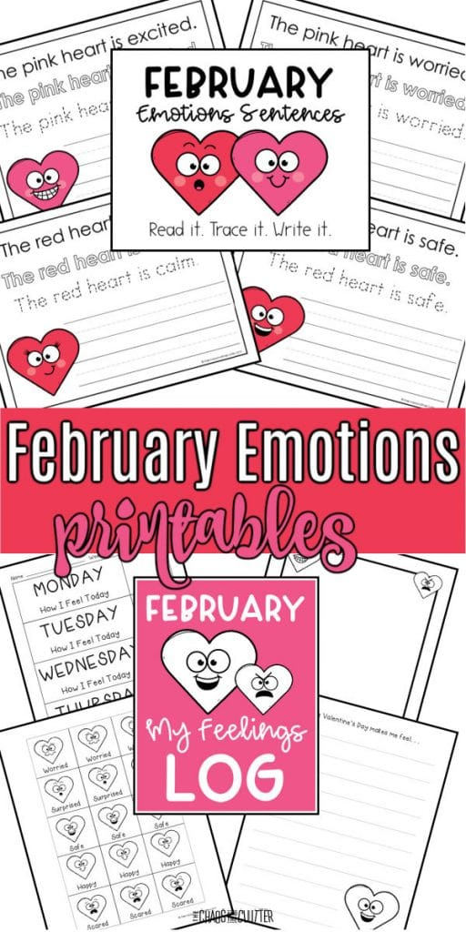 FREE Emotions Printables for February. #freehomeschooldeals #fhdhomeschoolers #februaryemotionssentences #februaryprintables #emotionsprintablesforkids #emotionsresourcesforkids
