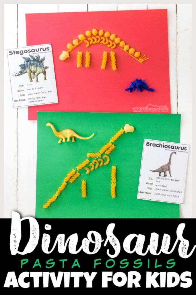 FREE Dinosaur Fossil Activity. #freehomeschooldeals #fhdhomeschoolers #dinosaurfossilsactivity #fossilactivity #dinosauractivityforkids