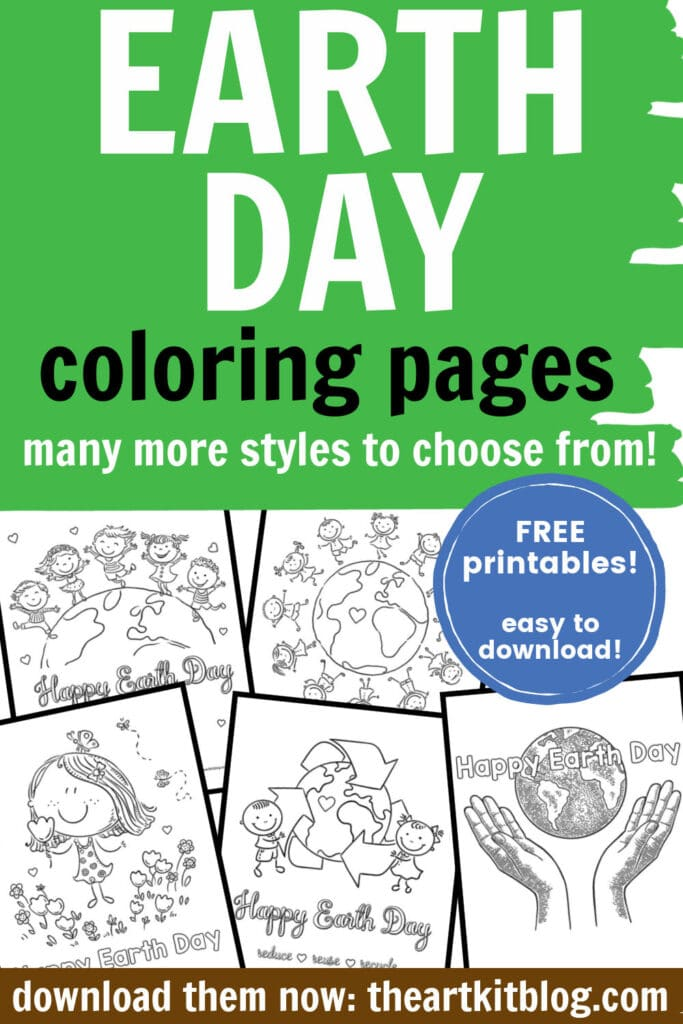 FREE Earth Day Coloring Pages Free Homeschool Deals ©