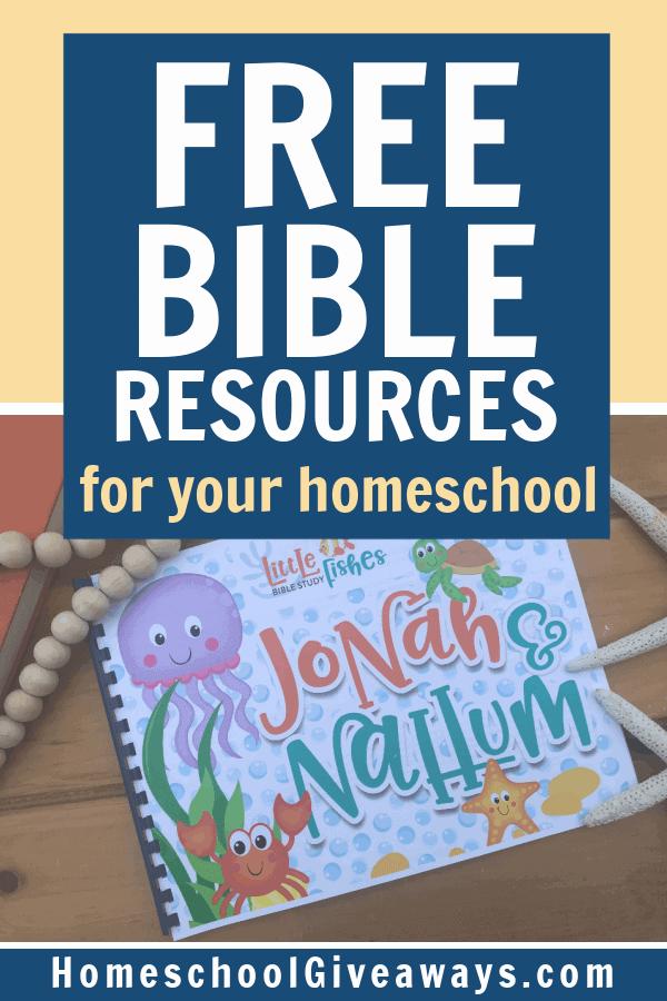 FREE Homeschool Bible Resources. #freehomeschooldeals #fhdhomeschoolers #homeschoolbibleresources #bibleresources #bibleprintables