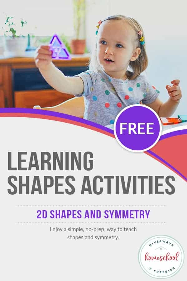 Learning Shapes FREE Activities. #freehomeschooldeals #fhdhomeschoolers #learningshapesactivity #shapesactivity #learnshapesactivity