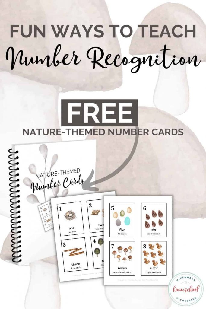 FREE Number Recognition Resources. #freehomeschooldeals #fhdhomeschoolers #properposture #postureposter #writingposture
