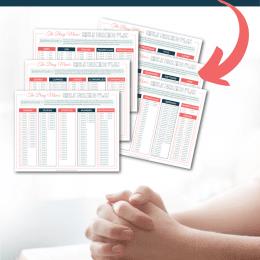 FREE Busy Mom Bible Reading Plan. #freehomeschooldeals #fhdhomeschoolers #mombiblereadingplan #busymombibleplan # biblereadingplan