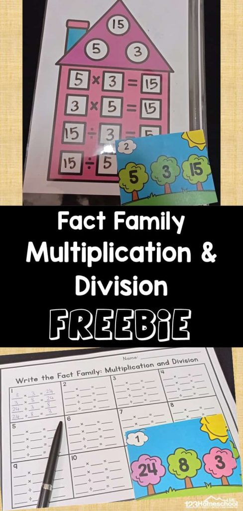 FREE Division and Multiplication Printable. #freehomeschooldeals #fhdhomeschoolers #multiplicationanddivision #dicisionandmultiplication #divisionprintable #multiplicationprintable