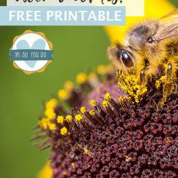 Honeybee Creative Writing Prompts. #freehomeschooldeals #fhdhomeschoolers #creativewritingprompts #honeybeewritingprompts #gnomeswritingprompts