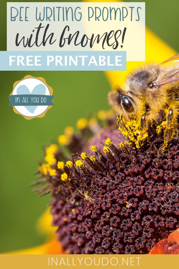 #freehomeschooldeals #fhdhomeschoolers #creativewritingprompts #honeybeewritingprompts #gnomeswritingprompts