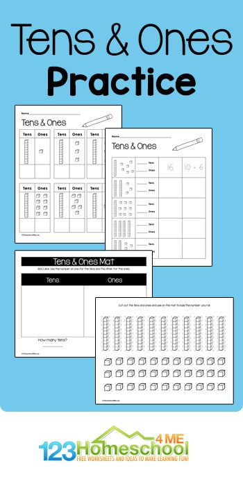 Place Value Practice Activities. #freehomeschooldeals #fhdhomeschoolers #learningplacevalue #placevalueworksheets #placevalueactivities