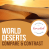 Free Desert Notebooking Pages. #freehomeschooldeals #fhdhomeschoolers #studyingdeserts #desertnotebookingpages #freedesertunitstudy
