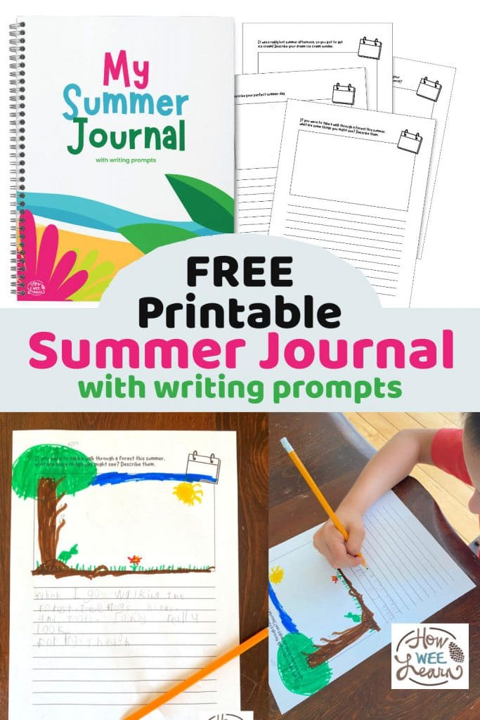 Summer Journal Writing Prompts. #freehomeschooldeals #fhdhomeschoolers #summerjournalprompts #freesummerwritingprompts #creativewritingprompts