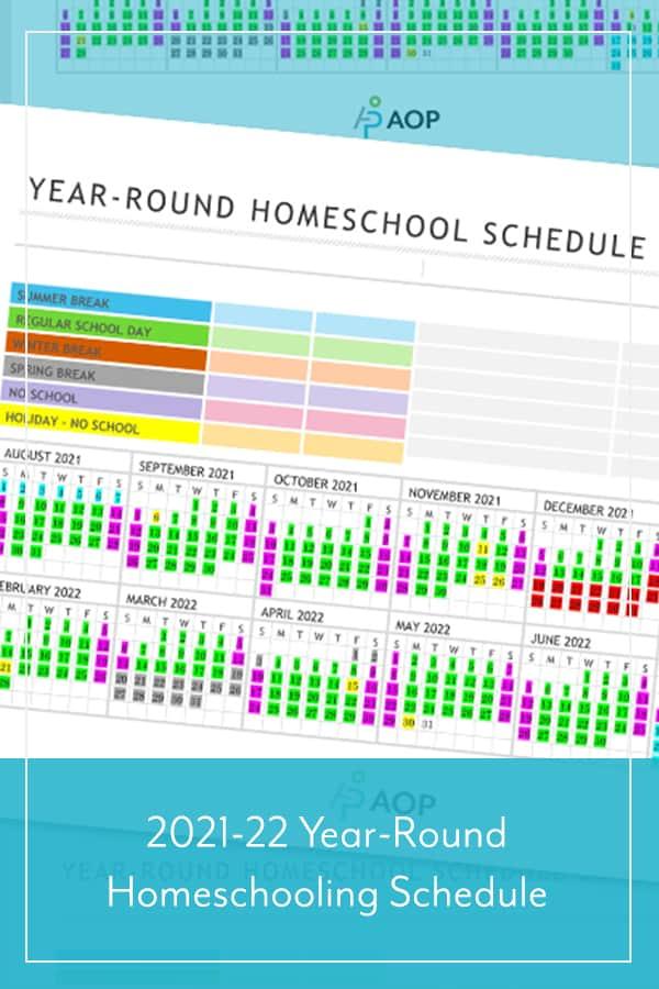 Free Homeschool Planning Schedule. #freehomeschooldeals #fhdhomeschoolers #yearroundhomeschoolschedule #yearroundteaching #freehomeschoolschedule