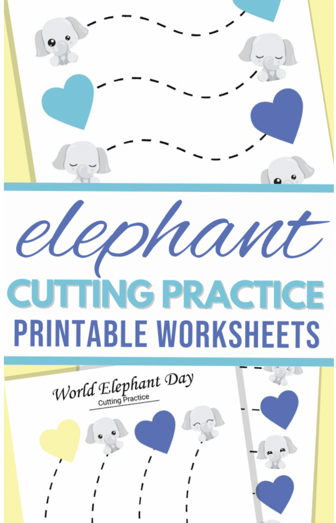 Free Preschool Cutting Practice Pages. #freehomeschooldeals #fhdhomeschoolers #preschoolcuttingpractice #learningtousescissors #cuttingpracticepages