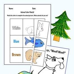 free Animal Themed Printables for preschool